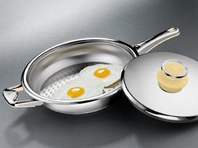 URA-технологія – хімічний процесс, який підвищує концентрацію хрома (Cr) на поверхні дна посуду.